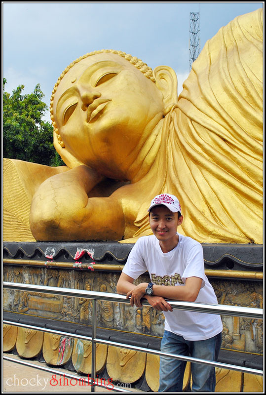 the Buddha and me
