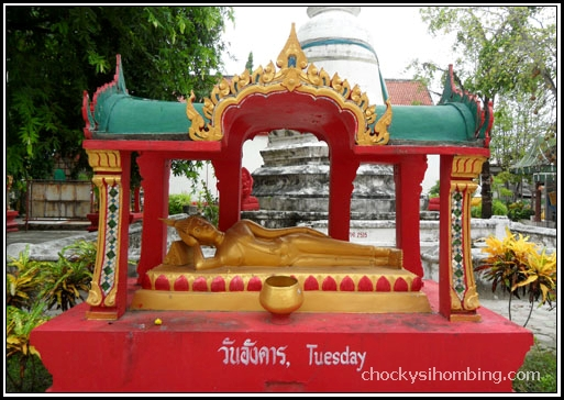 Wat Phranang Sang, Buddha of Tuesday