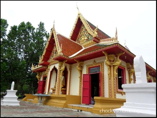 a Wat in Talang Town, Phuket