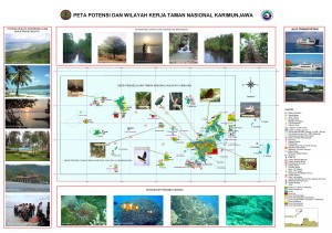 karimunjawa national park map