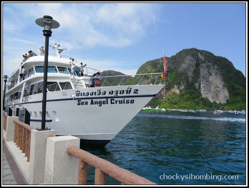 the ferry, Phuket to Phi-phi