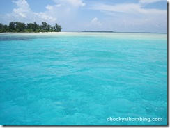 the blue of karimunjawa