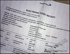 garuda indonesia e-ticket