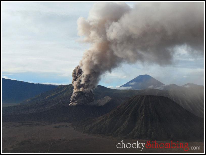 Mount Bromo's Eruptions | Chocky Sihombing