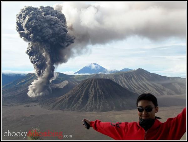 wisata erupsi di bromo