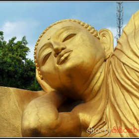 Sleeping Buddha Trowulan 4