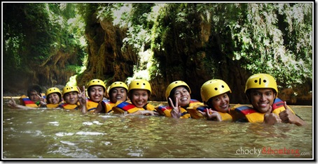 Body Rafting - Green Canyon