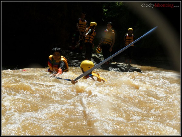 body rafting medan