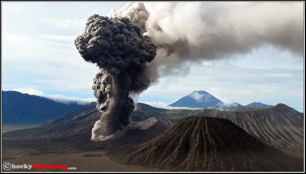 erupsi gunung bromo 2010