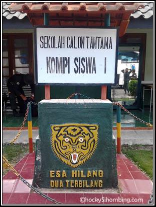 Sekolah Calon Tamtama, Rindam III Siliwangi