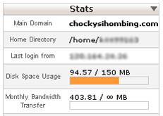 jatah bandwidth baru