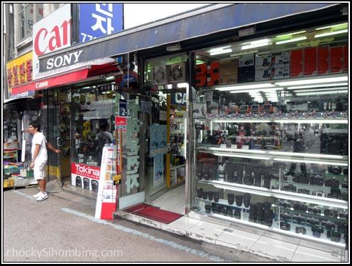 Pasar Kamera di Namdaemun