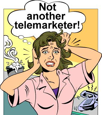 not another telemarketer