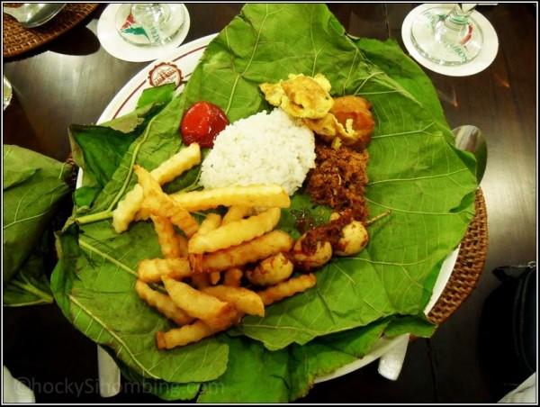 Nasi Jamblang Cirebon versi saya! :D