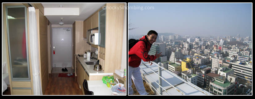Stay 7 - room and the view