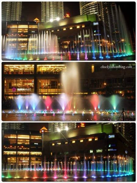 Petronas Fountain Light Show