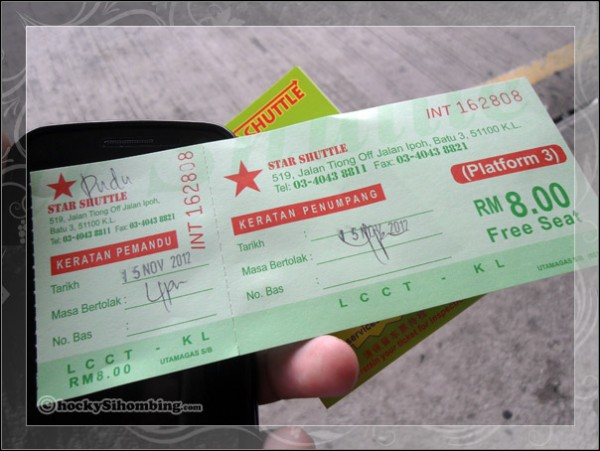 star-shuttle-tiket