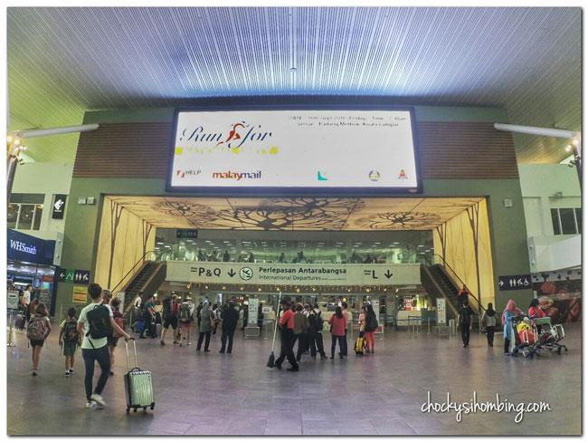 International Departure KLIA2