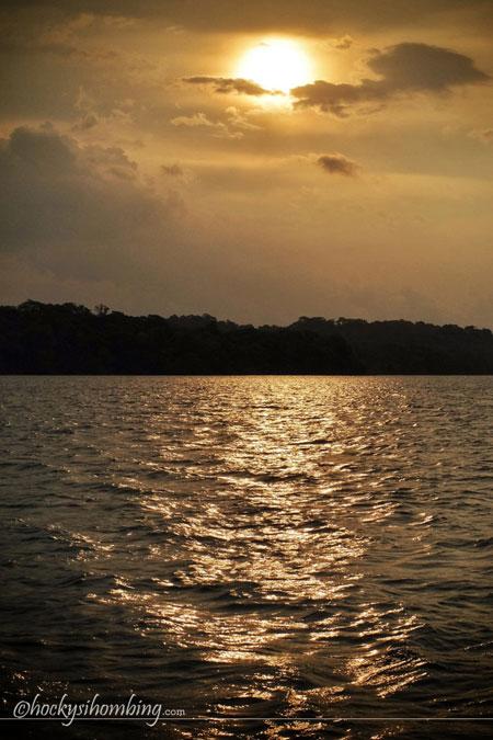 sunset-ujung-kulon