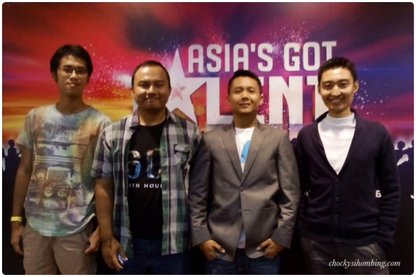Perwakilan (penonton) Indonesia di Grand Final Asia's Got Talent