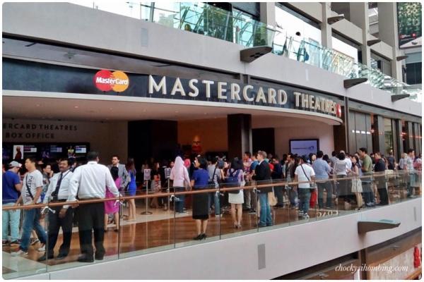 MasterCard Theatres - Marina Bay Sands, Singapura