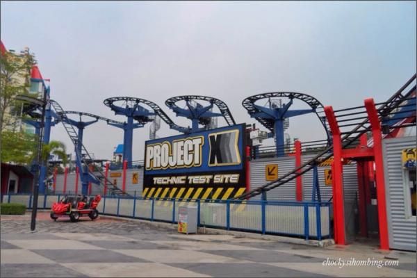 Project X - Legoland alias Roller Coaster