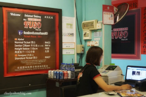 front desk Mini Kuso Johor