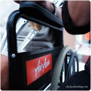 Layanan Kursi Roda di Air Asia