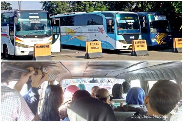 gambar bus Jakarta Bandung