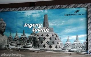 Sugeng Rawuh di Terminal B Adisutjipto Yogyakarta