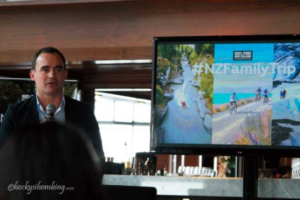 Steven Dixon - Regional Manager Tourism New Zealand on action