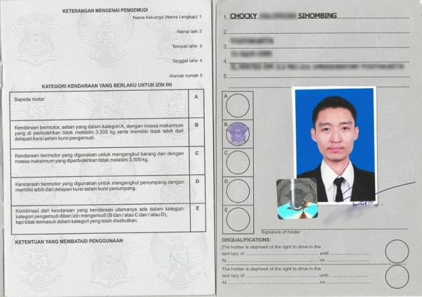 Informasi Detail di SIM Internasional Indonesia