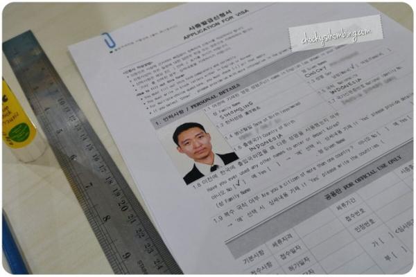 Form Aplikasi Pengajuan Visa Korea Selatan
