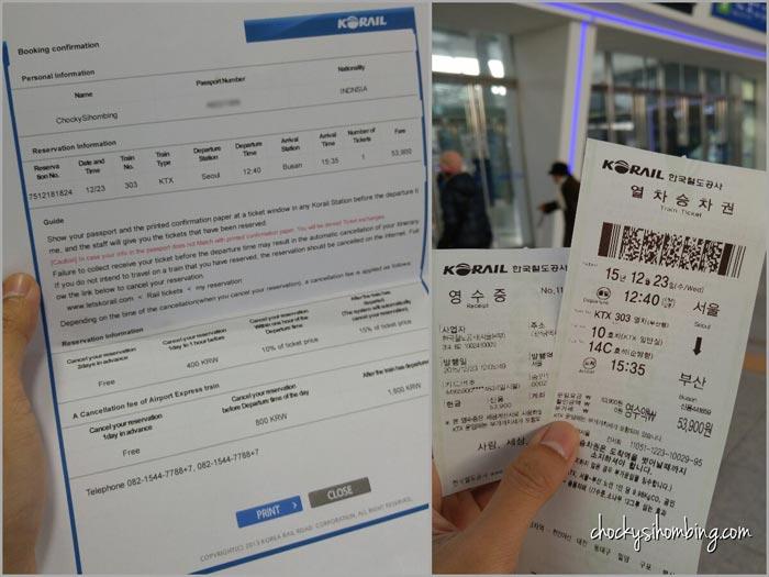 Kereta Seoul Ke Busan Korea Selatan Chocky Sihombing