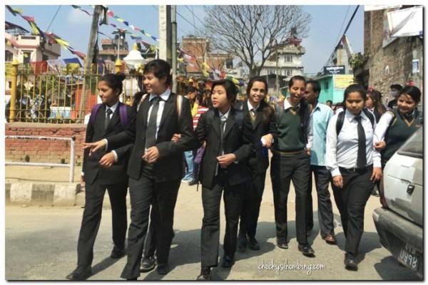 pelajar-kathmandu-nepal