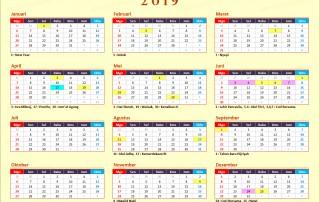 Kalender 2019 Indonesia